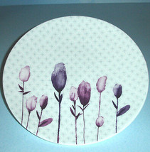"Lenox Watercolor Amethyst Accent Salad Lunch Plate 9.25"" Simply Fine USA... - $19.90"