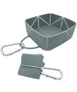 iKaboodle FoldaBowl Dog Travel Bowl. Folding Single Portable Bowl with c... - $19.95