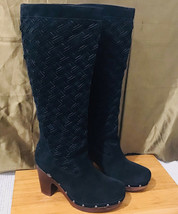 Ugg (3363) Arroyo Boots Black Suede Leather Boots Size US 8 - $198.00