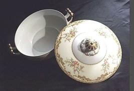 Noritake China Nana Rosa Pattern # 682 Sugar Bowl with Lid AB 336-K Vintage image 2