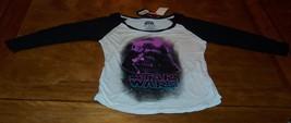 WOMEN'S TEEN 70'S STYLE STAR WARS DARTH VADER PINK POP ART T-shirt SMALL... - $19.80