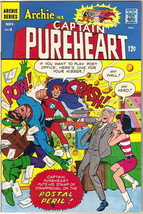 Archie as Captain Pureheart Comic Book #6, Archie 1967 VERY FINE+ - $57.97