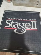 Stage II Trivia Game  Milton Bradley family fun  Board game Complete - $5.00