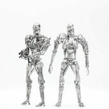 The Terminator Figure NECA T-800 Endoskeleton 7 Joints movable PVC Action - $25.15