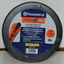 Husqvarna 596781301 Titanium X Pro Trimmer Line Orange 690 ft Sz .105 Spooled image 2