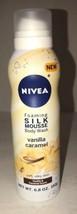 1 Ea Nivea Vanilla Caramel Foaming Silk Mousse Body Wash, 6.8 Ounce-SHIP... - $4.78