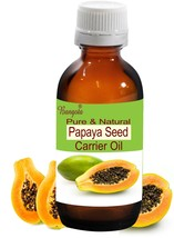 Papaya Seed Pure Natural Carrier Oil Cold Pressed 15ml Carica papaya by Bangota - $9.77