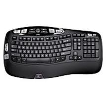 Logitech 920-001996 K350 Wireless USB Keyboard - 2.4 GHz - Black - $62.87