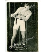 GEORGES CARPENTIER-FRANCE-BOXING EXHIBIT CARD G