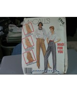 McCall's 2315 Misses Made for You Pants Pattern - Size 22 Waist 37 Hip 46 - $9.89
