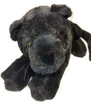 "Heunec Black Panther Big Jungle Cat Plush Mauritius Barcelona Plush Toy 28"" - $199.00"