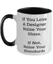 Graphic Designer Gifts - Designers Do It Better - Design Two Tone Coffee Mug  - £12.32 GBP