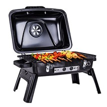Pinty Portable Folding Charcoal Grill Carbon Steel Tabletop BBQ Grill fo... - £59.11 GBP
