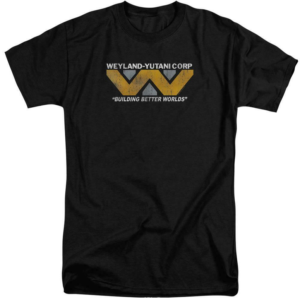 Aliens t-shirt Weyland-Yutani Corp Science Fiction movie graphic tee TCF103