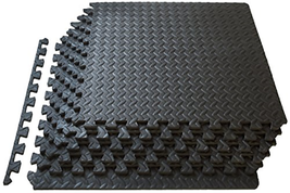 Exercise Floor Mat Fitness Puzzle Rug Gym 24SF Workout Equipment Weight ... - $565,05 MXN