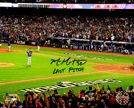 MIKE MONTGOMERY Signed Cubs 2016 World Series Game 7 8x10 Photo w/Last P... - $78.21