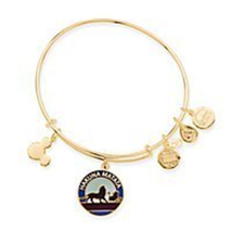 Disney Parks Lion King Hakuna Matata Charm Bangle Alex & Ani Gold New With Tags - $64.34