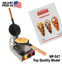 "EGG WAFFLE GRILL ""PUFFLE NP-547"" Professional Non-Stick 110V  - €145,23 EUR"