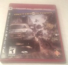 MOTOR STORM PS3 GREATEST HITS SONY PLAYSTATION VIDEO GAME    - $7.25