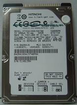 """NEW 60GB IDE 44PIN 2.5"""" 9.5MM drive Hitachi HTS541660J9AT00 Free USA Ship"""