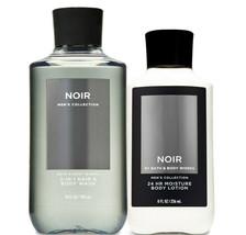 Bath & Body Works Noir For Men Body Lotion & 2-in-1 Hair + Body Wash Duo Set - $32.95