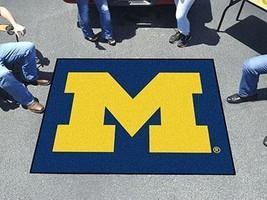 NCAA -  Michigan Tailgater Rug 5x6  - $137.99