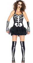 Sexy Glow In the Dark Skeleton Halloween costume - $30.00