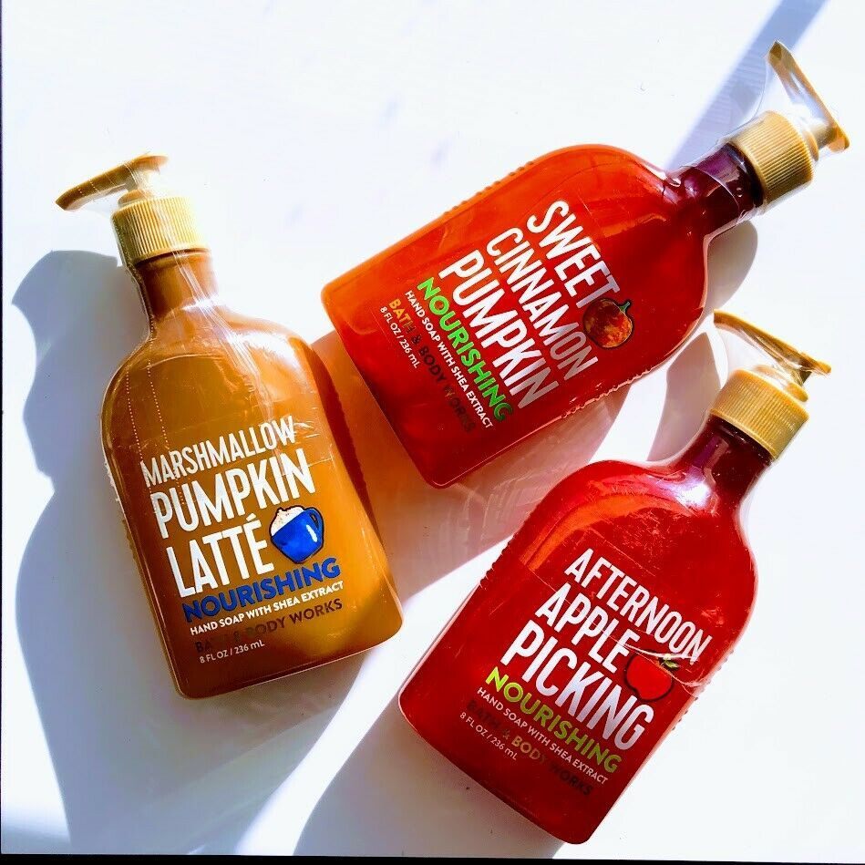 Autumn Days Deluxe Hand Soaps: *Bath & Body Works* | Fall | Shea | Harvest | Fun