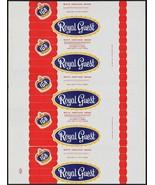 Vintage bread wrapper IGA ROYAL GUEST Bake Rite Baking Stevens Point Wis... - $9.99