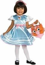 New DORA THE EXPLORER In Wonderland KIDS COSTUME By Rubies Children's Me... - $22.90