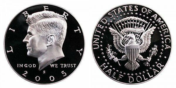 2005 S Proof Kennedy Half Dollar CP2044