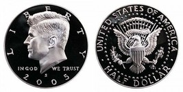 2005 S Proof Kennedy Half Dollar CP2044 - $4.75