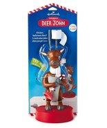 Hallmark Deer John Singing Talking Bathroom Reindeer with Candy Cane Plu... - ₨711.48 INR