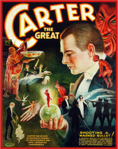Quality POSTER.Carter Great Magic Acts.Occult Decor.Home Interior Design... - $9.90+