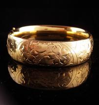 1900s Victorian bracelet / vintage gold filled bracelet / antique bracel... - $295.00