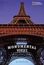 Monumental Verses [Hardcover] Lewis, J. Patrick image 2