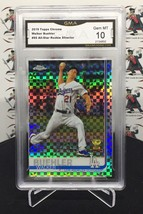 2019 TOPPS CHROME WALKER BUEHLER XFRACTOR ROOKIE CUP #90 DODGERS     A23 - $24.99