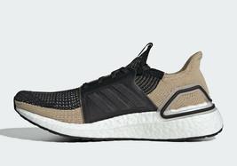 Adidas Men's UltraBoost  Running Shoes Black/Raw Sand/Grey F35241 - $120.00