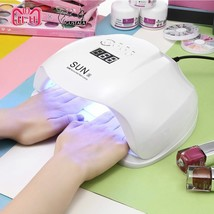 Nail Dryer UV LED Lamp SUN X 48/54W LCD Display 36 LEDs For Curing Gel P... - $36.99+
