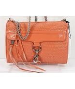 Rebecca Minkoff Woven Coral Patent Leather Full Size Mac Crossbody NWT - $174.50