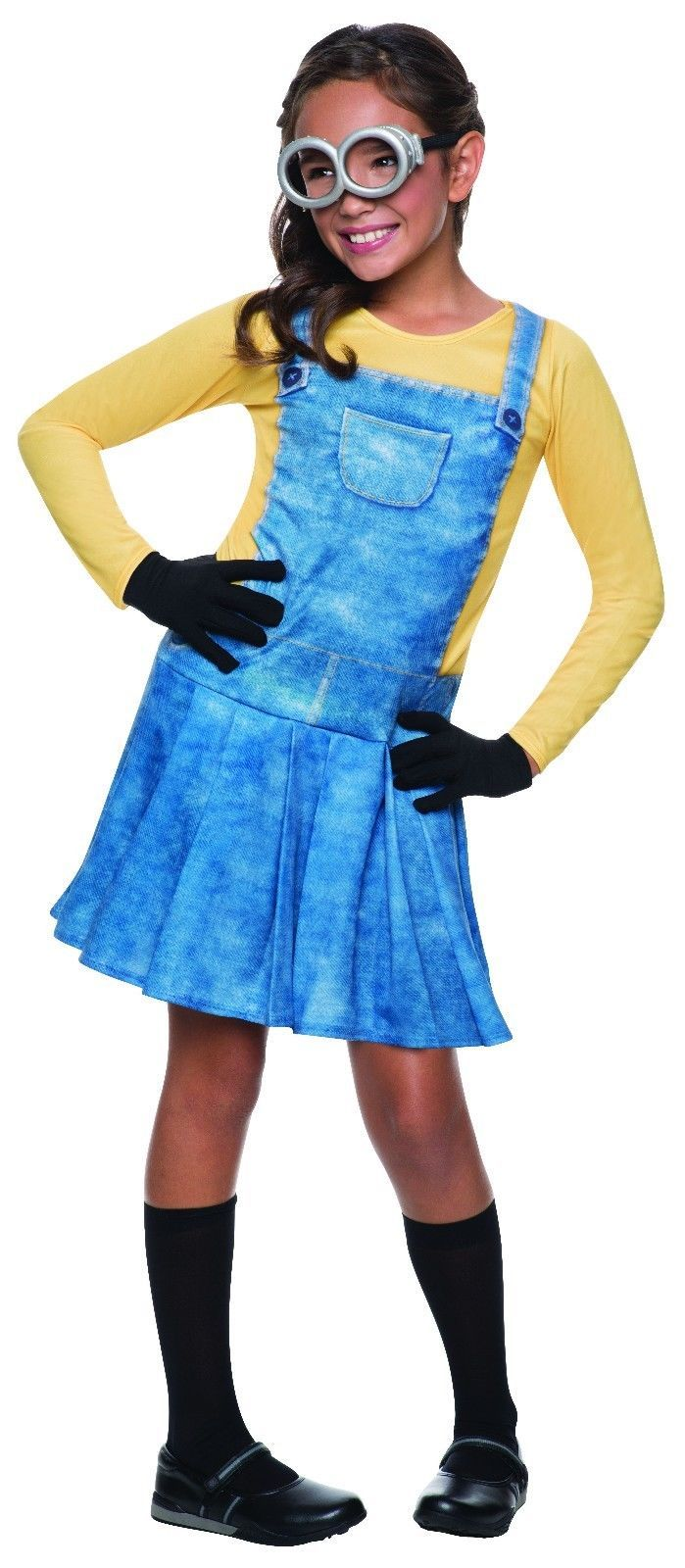 Rubies Mujer Minion Kevin Bob Stuart Niños Niñas Disfraz Halloween 610786