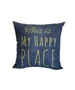"""This is My Happy Place"" Throw Pillow - $169,34 MXN"