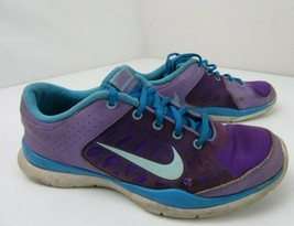 Nike Air Flex Trainer 3 Women's Shoe Size 8.5 Purple Blue 580374-502 - $11.87