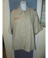 Boy Scouts of America BSA Official Uniform Shirt 100% Polyester Size XL ... - $36.45