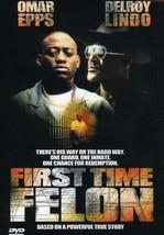 First Time Felon [New DVD] - $20.90