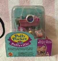 Bluebird Vintage Polly Pocket 1994 Pollyville Drive-Thru Burger Stand Playset - $159.99