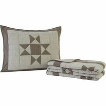 VHC Brands Primitive Bedding Ohio Star Quilt Set, Twin - $128.00+