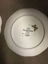"""Set of 2 Lenox Butterfly Meadow Monarch 9 1/4"""" Luncheon Plates image 5"""