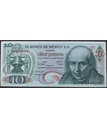 Banco de Mexico 10 Pesos Note - $3.95