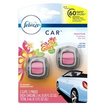 Febreze Car Air Freshener With Gain Island Fres... - $13.26